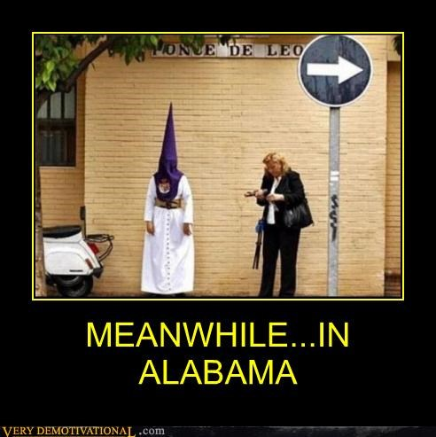 Alabama,hilarious,kkk,sign