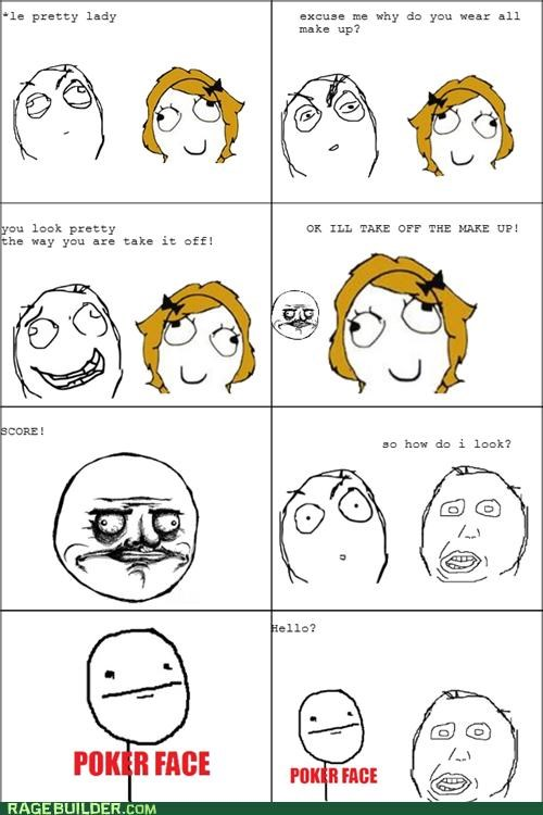 girls make up pretty Rage Comics - 4722465792
