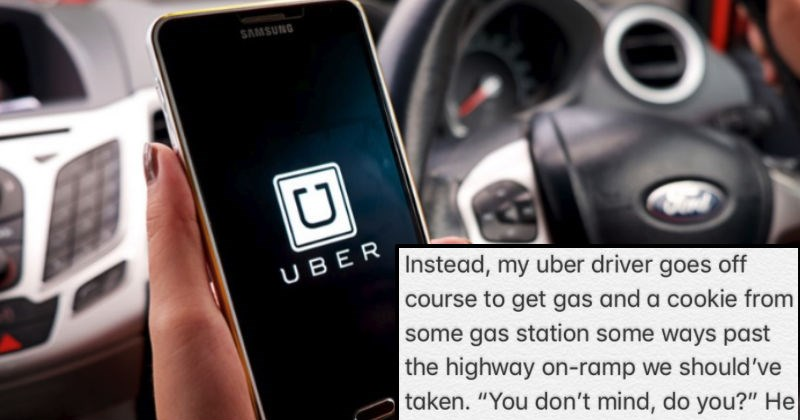 Guy's terrible story about horrible customer service from Uber after ridiculous ride, will make you cringe.