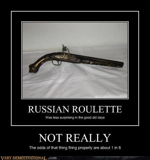flint lock gun hilarious russian roulette - 4723531008