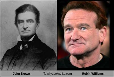 abolitionist comedians historical figures John Brown robin williams