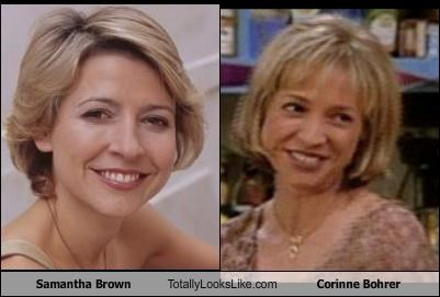 actresses corinne bohrer personalities Samantha Brown