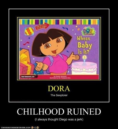 CHILHOOD RUINED (I always thought Diego was a jerk)