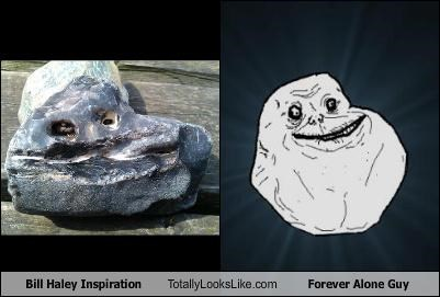 forever alone forever alone guy Memes rock rocks - 4724707328