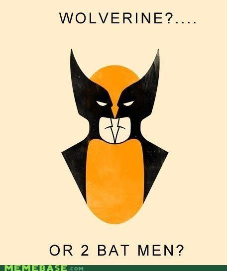batmen,comics,Memes,super heroes,superheroes,unsee,wolverine