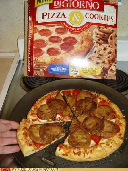 bake box combination cookies digiorno frozen pizza topping