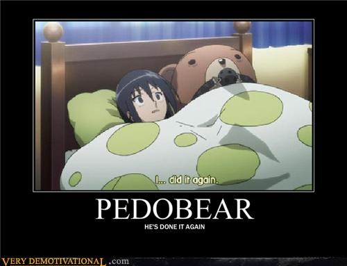 again anime hilarious pedobear