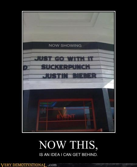 hilarious,idea,justin bieber,suckerpunch