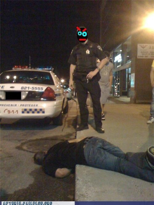bro cops passed out - 4725992448