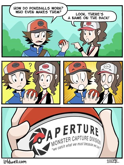 aperture,comics,Loldwell,Pokémon,Portal,video games