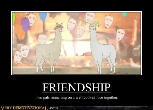 faces friendship hilarious llama - 4726628352