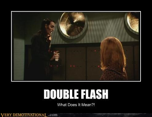 double flash hilarious it crowd