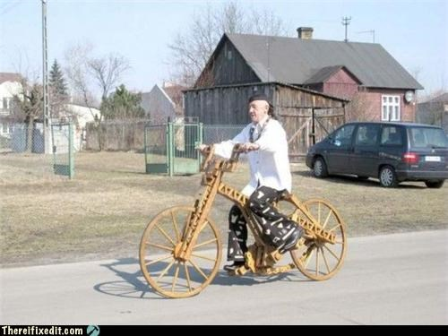 bicycle,woody,wtf