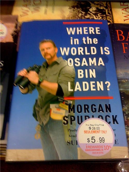 morgan spurlock Osama Bin Laden Planned Obsolescence Spoiler Alert - 4727405824