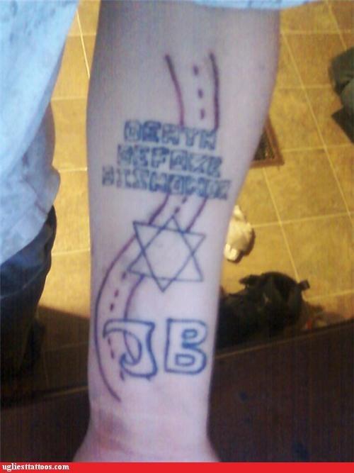 bad misspellings tattoos funny - 4727645952