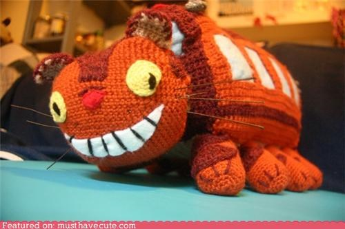 Amigurumi catbus character crochet Movie totoro