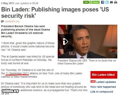 Obama Time Travels?! BBC news have done a big typo on the osama bin laden killing on their website, as it seems to what they say president Obama can time travel?!
