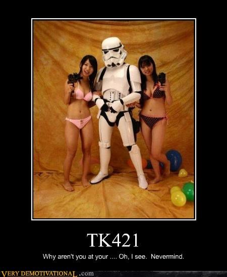 Sexy Ladies star wars tk421 - 4728055296