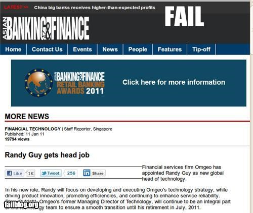 failboat headline innuendo jobs poor wording Probably bad News promotion - 4728094976
