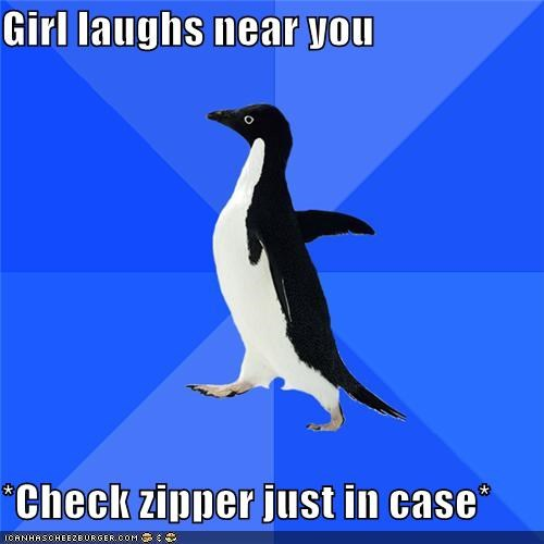just in case,lol,pdq,socially awkward penguin,xyz,zipper