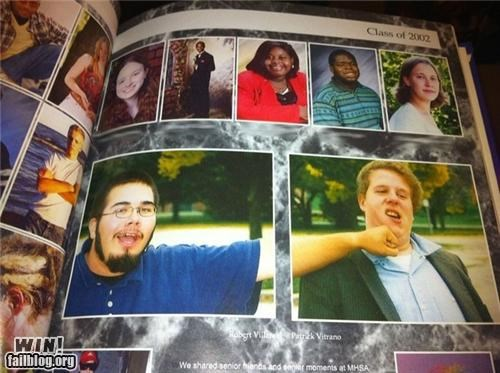 clever coordinate friends photos punched yearbook - 4728969216