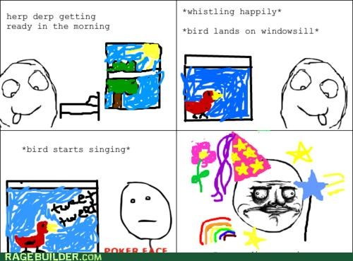 pretty princess Rage Comics tweet window