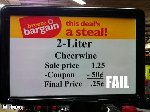 Discount Fail These idiots need to go back to school
