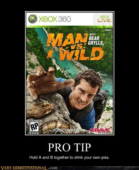 bear grylls hilarious man vs wild video games - 4729193472
