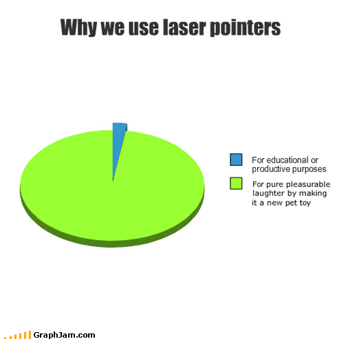 laser,laser pointer,pet toy,Pie Chart,red dot