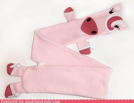 accessories horse pink pony scarf - 4729503744
