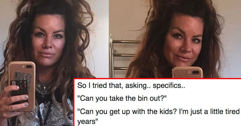 Mom's Facebook post about husbands expecting their wives to do housework goes viral.