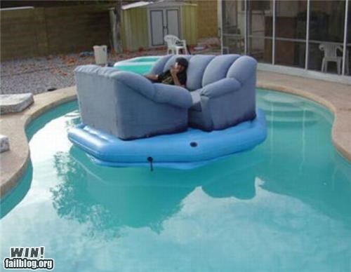 comfortable floating furniture summer swimming pool - 4729877248