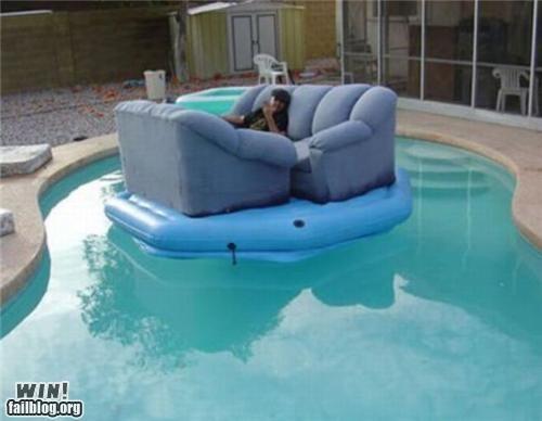 comfortable floating furniture summer swimming pool - 4729877248