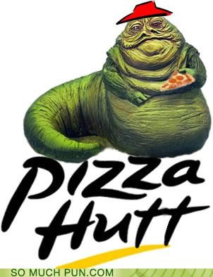 boba fett homophone hut hutt jabba literalism logo pizza hut return of the jedi sarlac star wars surname - 4729893120