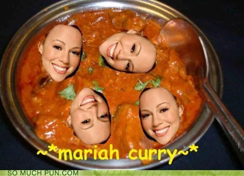 curry,food,kimchi,literalism,mariah carey,mimi,noms,preference,similar sounding