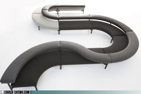couch curvy furniture modular sectional - 4730306816