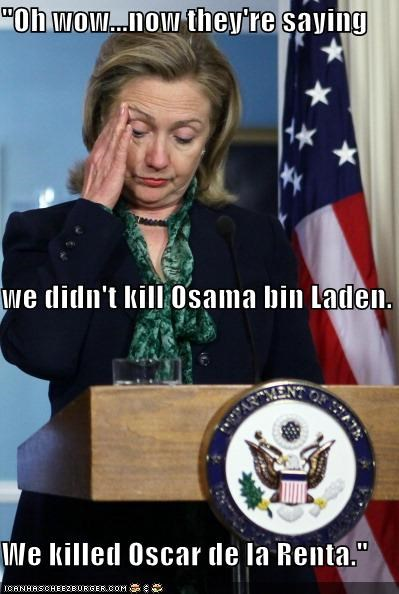 Hillary Clinton Osama Bin Laden political pictures - 4731643392