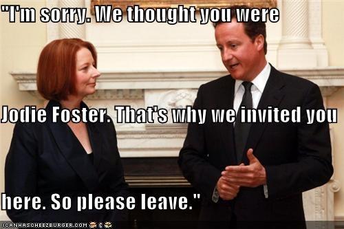 david cameron Julia Gillard political pictures - 4731653888