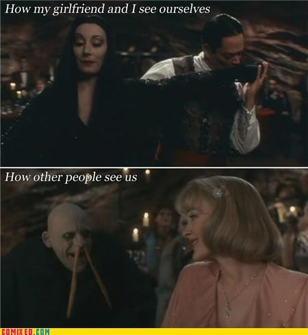 addams family,From the Movies,Gomez,Morticia
