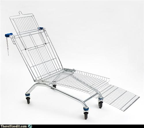 dual use,furniture,not a kludge,shopping cart