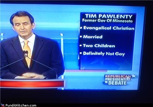 debate gay rights political pictures tim pawlenty - 4732456448