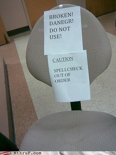 chair,grammar nazis,spelling