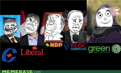 borderlands Canada election lol who cares Memes