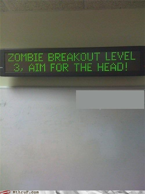 messages,sign,zombie