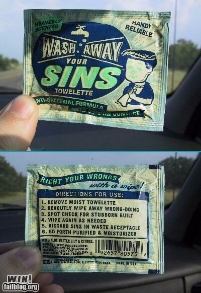 clean clever products religion sins towels - 4732794112