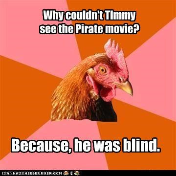 blind eye give Memes movies Pirate wood - 4732911872