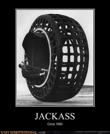 hilarious jackass wheel wtf - 4732924672