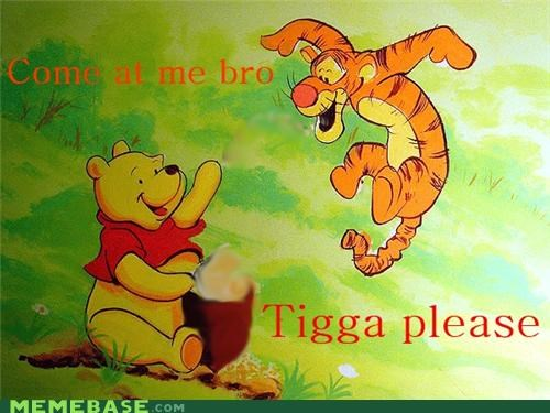 6pm pooh,Memes,tigga please,tigger,winnie the pooh