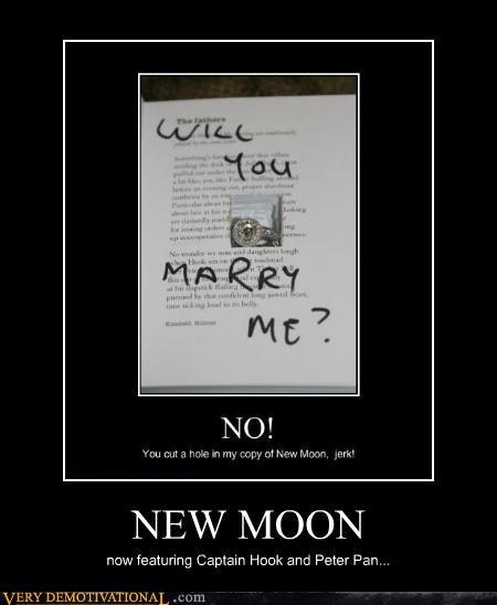 book hilarious new moon peter pan propsal - 4733201408