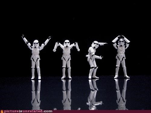 star wars,stormtrooper,wtf,ymca